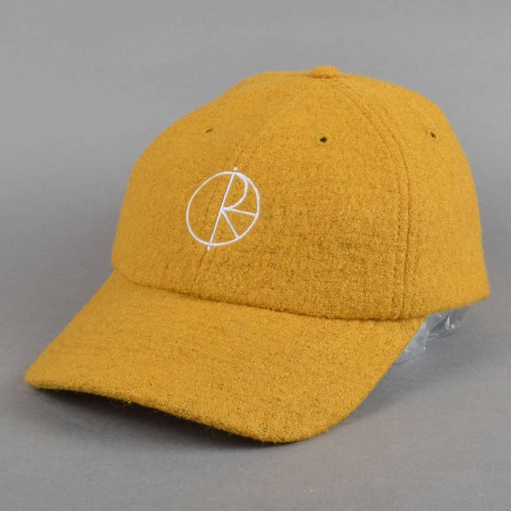 Polar Skateboards Boiled Wool Strapback Cap - Mustard 2e7bd7e73f3