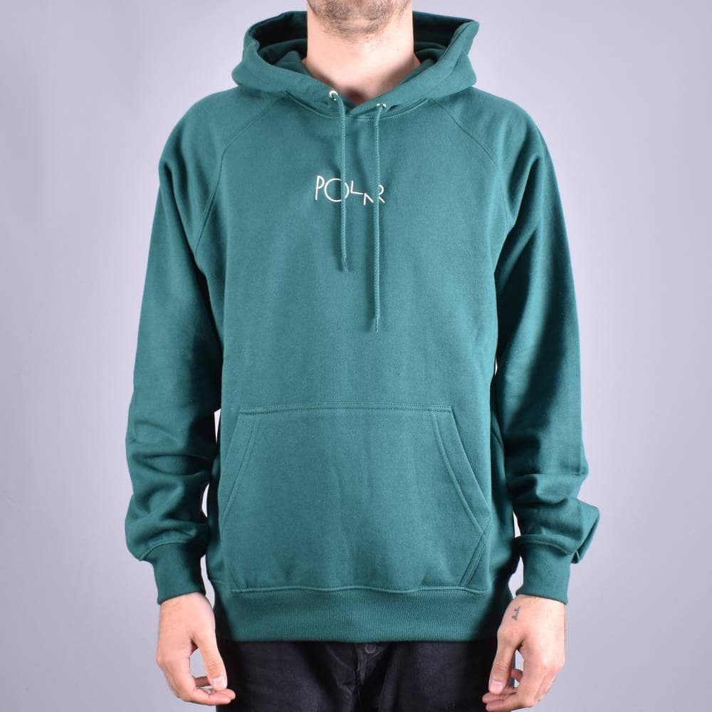 OMIT Apparel Mens Skateboarder Brand Green Pullover Hoodie New L