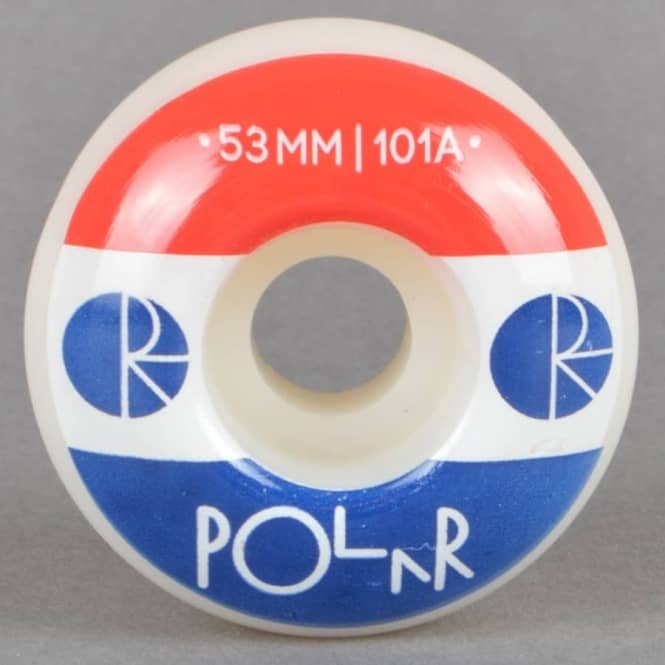 Polar Skateboards Fill Logo 101A Skateboard Wheels 53mm