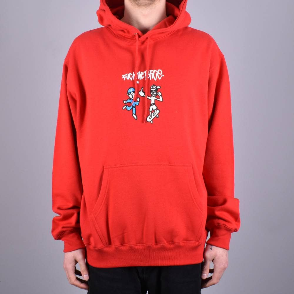 8b6331ed4 Polar Skateboards FTP Pullover Hoodie - Red