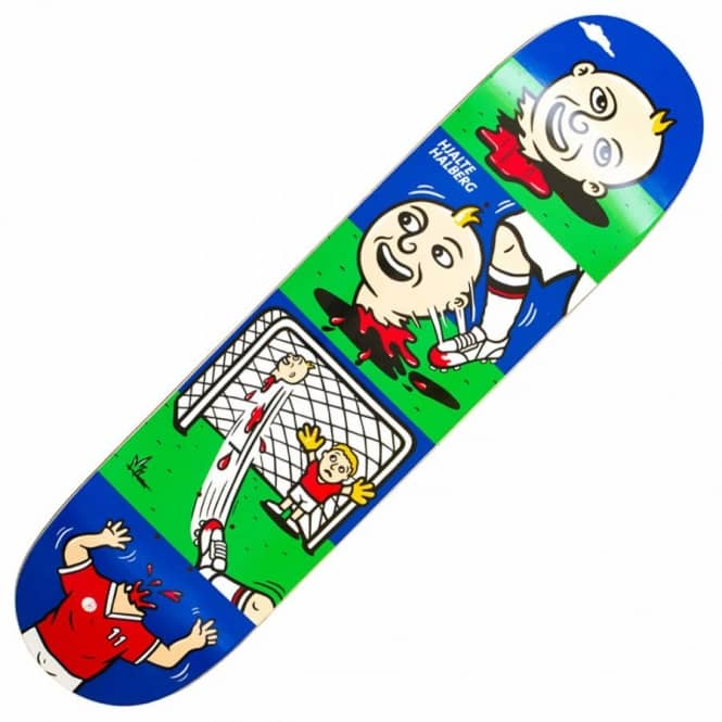 Polar Skateboards Halberg Fussball Skateboard Deck 8.25''