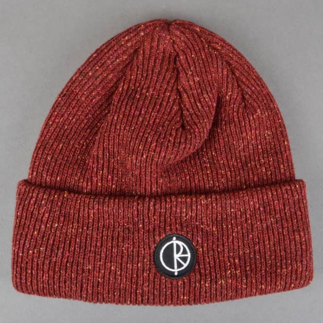 Polar Skateboards Harbour Beanie - Dark Red