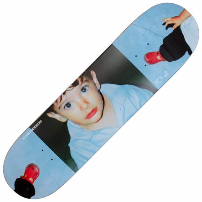 Polar Skateboards Kevin Rodrigues Creepy Hand Skateboard Deck 8.0