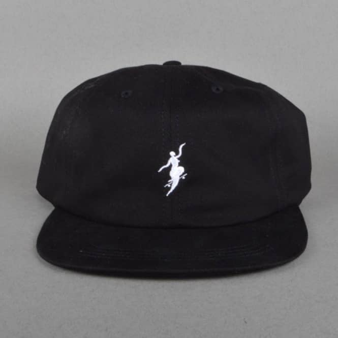 5b77673a Polar Skateboards No Comply Buckle Cap - Black - SKATE CLOTHING from ...