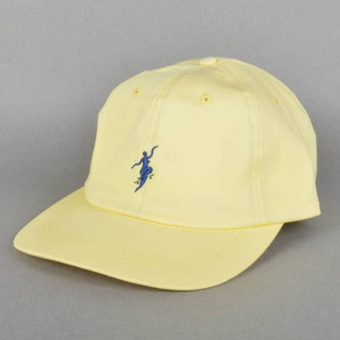 Polar Skateboards No Comply Cap - Pastel Yellow - SKATE CLOTHING ... 1a4cd5aa8fb