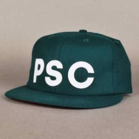 Polar PSC Light Wool Strapback Cap - Green
