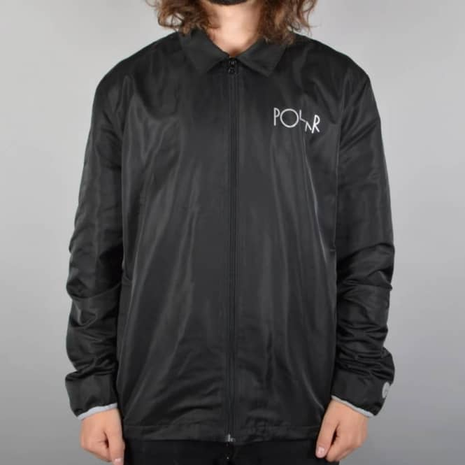 Polar Skateboards Skypager Jacket - Black