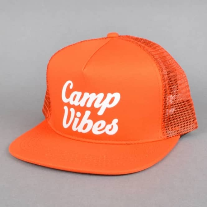 Poler Stuff 70's Vibes Mesh Trucker Cap - Burnt Orange