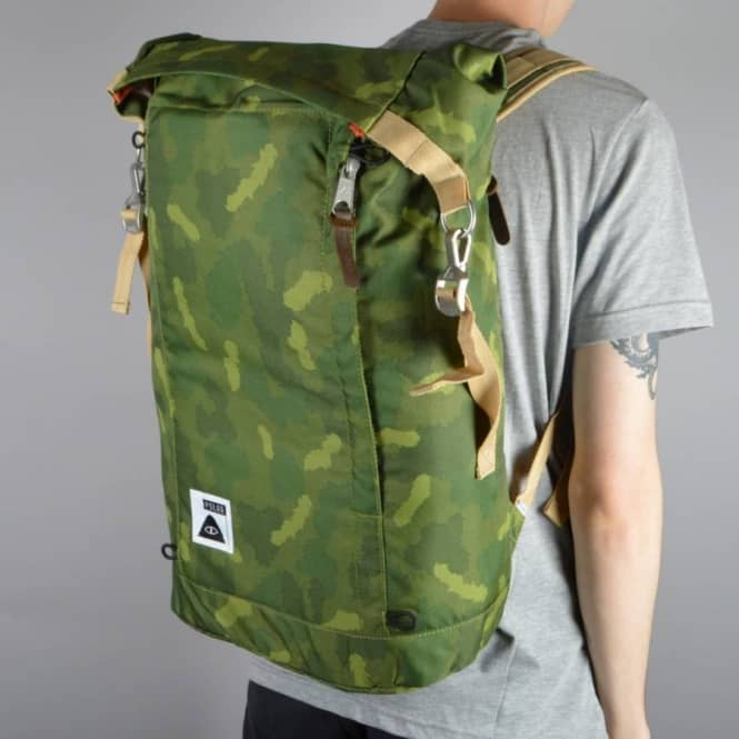 Poler Stuff Rolltop Backpack - Green Camo - ACCESSORIES from Native ... b48e603bb87a7