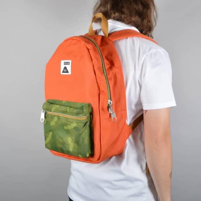 Poler Stuff The Rambler Backpack - Burnt Orange - ACCESSORIES from ... 251e1ffe8430e