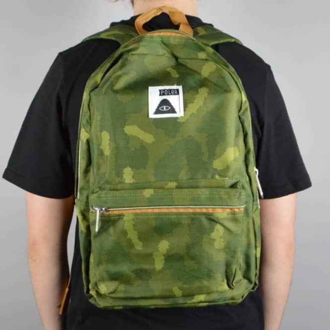Poler Stuff The Rambler Backpack - Green Camo - ACCESSORIES from ... abf523bed0627