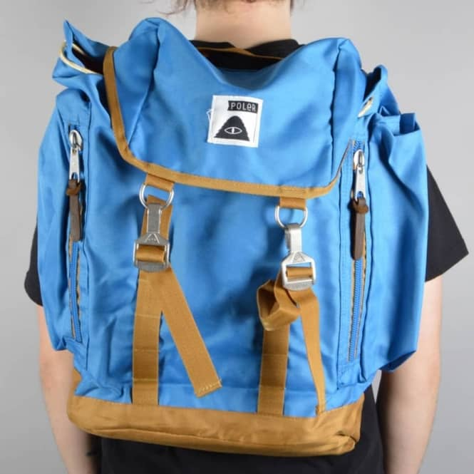 Poler Stuff The Rucksack 2.0 Backpack - Daphne/Almond