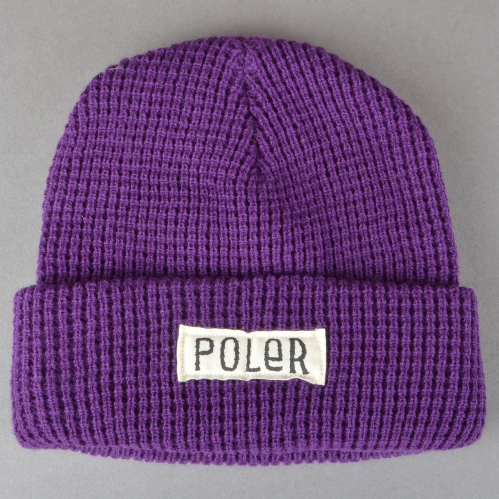 Poler Stuff Workerman Beanie - Purple - SKATE CLOTHING from Native ... 4ade0514f88