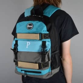 Pouch Skate Backpack - Blue