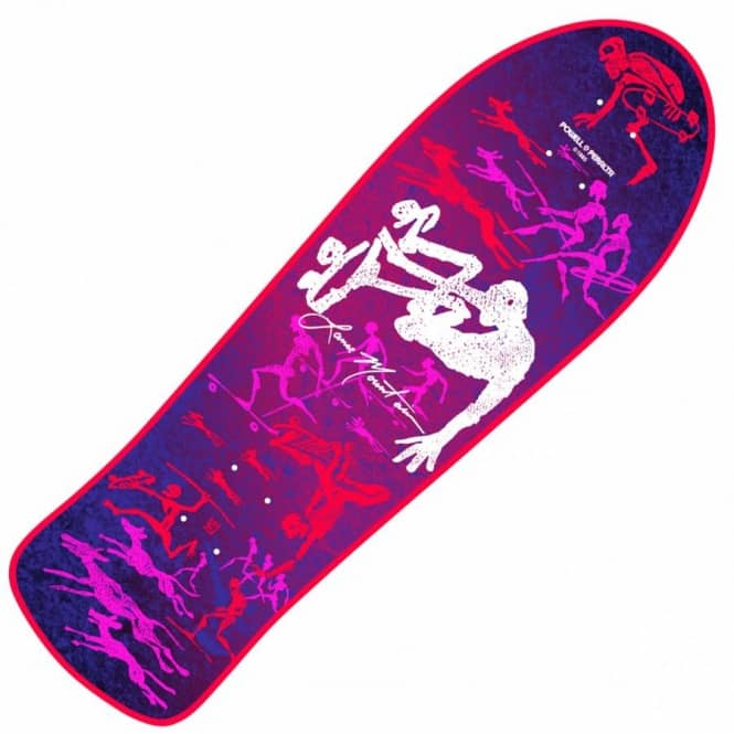 Powell Peralta Bones Brigade Lance Mountain Future Primitive 6th Series Reissue Skateboard Deck