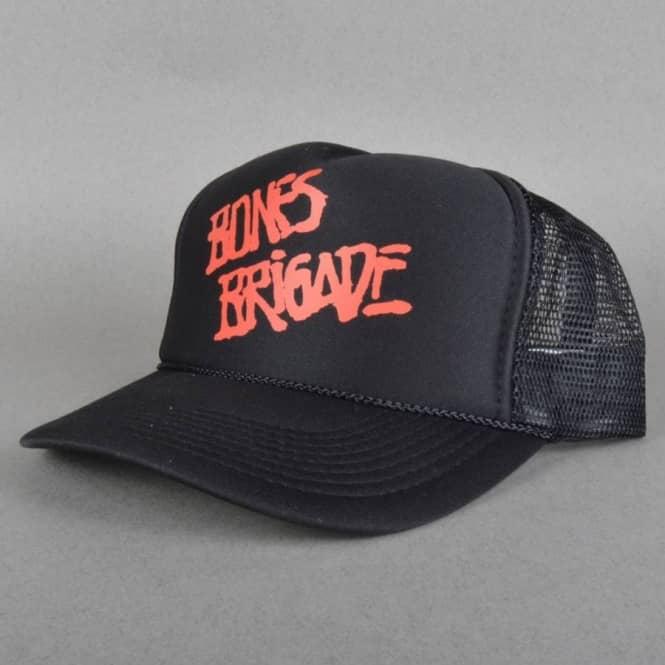 5795a34fa6259 Powell Peralta Bones Brigade Mesh Cap - Black - Caps from Native ...