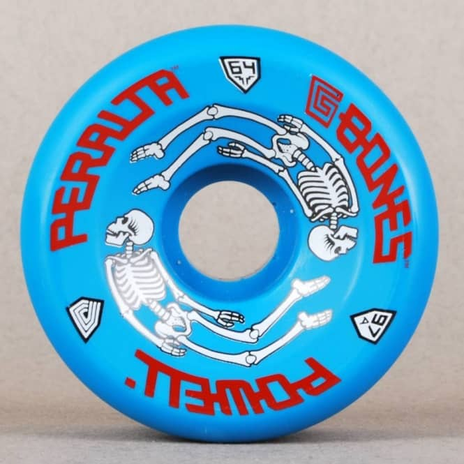 Powell Peralta Powell Peralta G-Bones Blue Skateboard Wheels 64mm