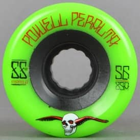 G-Slides Green 85A Duro Skateboard Wheels 56mm