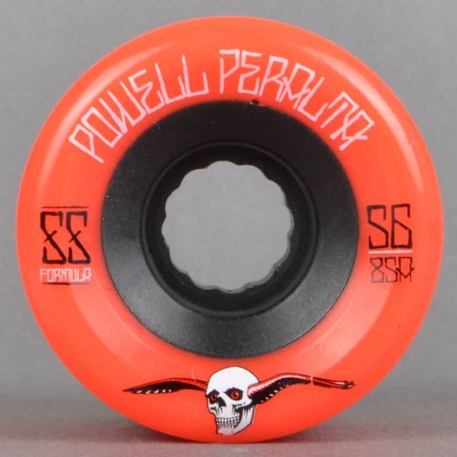 Powell Peralta G-Slides Red 85A Duro Skateboard Wheels 56mm