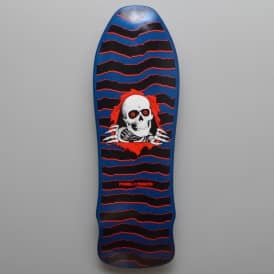 Powell Peralta Geegah Ripper Blue Skateboard Deck 9.75""