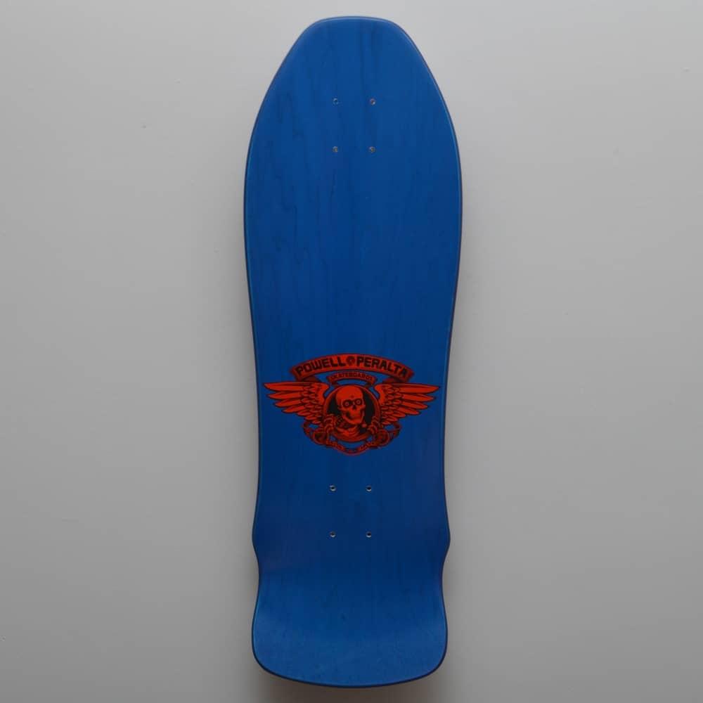 81c4a1392cfe3 Powell Peralta Geegah Ripper Blue Skateboard Deck 9.75 ...
