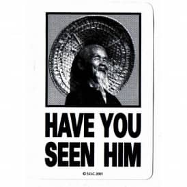 Powell Peralta Have You Seen Him Skateboard Sticker