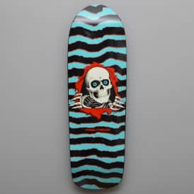 Powell Peralta Old School Ripper Turquoise Skateboard Deck 10.0""