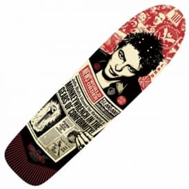 Powell Peralta x Alternative Tentacles Shepard Fairey Skateboard Deck 8.4""