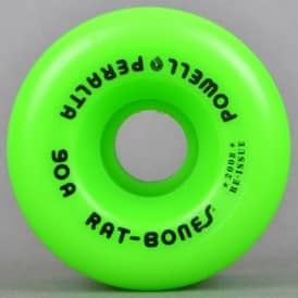 Powell Peralta Rat Bones Green 90A Skateboard Wheels 60mm