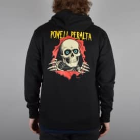 Powell Peralta Ripper Hooded Top - Black