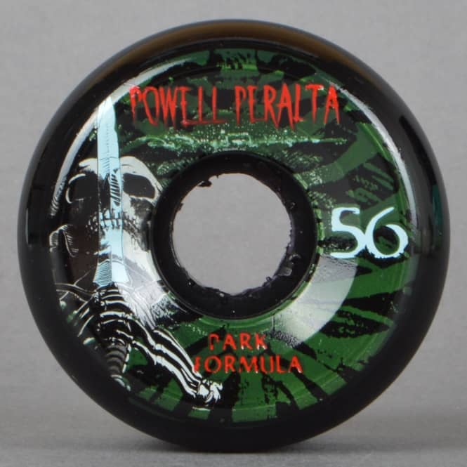 Powell Peralta Rodriguez Skull And Sword Black PF Skateboard Wheels 56mm