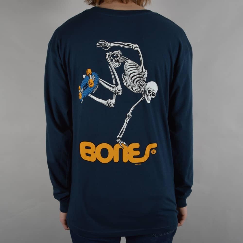 0d6d400e9 Powell Peralta Skateboard Skeleton Longsleeve T-Shirt - Navy - SKATE ...