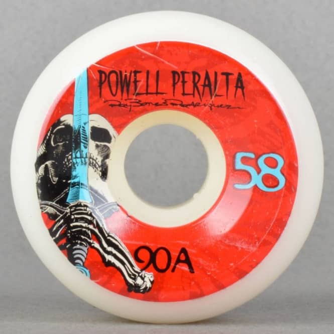 Powell Peralta Skull + Sword 90A Skateboard Wheels 58mm