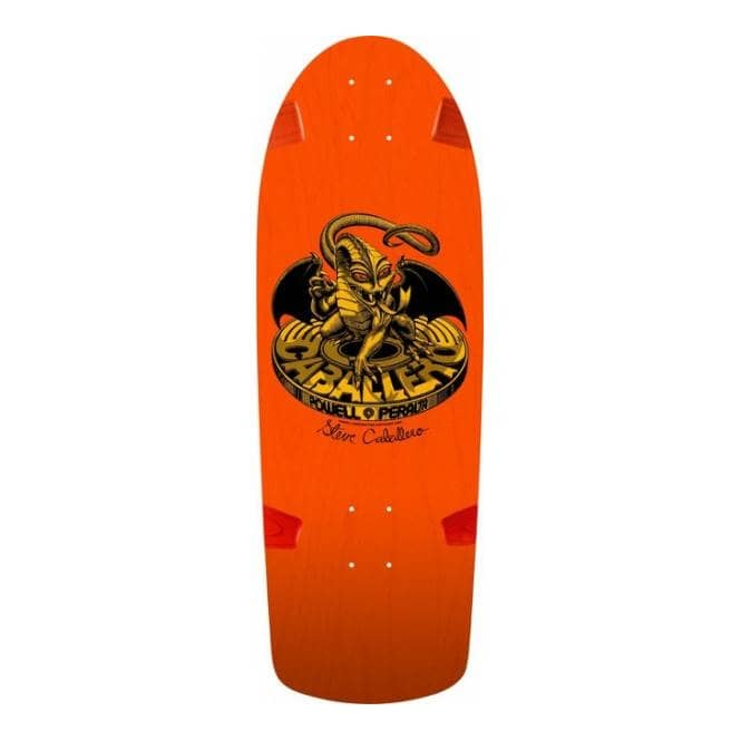 Powell Peralta Steve Caballero BG Dragon Orange Bones Brigade 7th Series Reissue Skateboard Deck 10.0