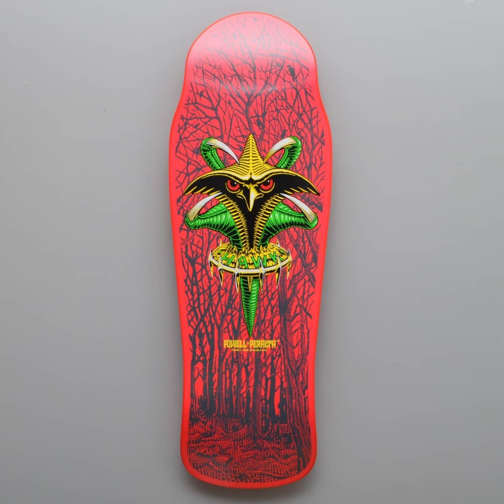 POWELL PERALTA TONY HAWK CLAW BONES BRIGADE X SKATEBOARD DECK