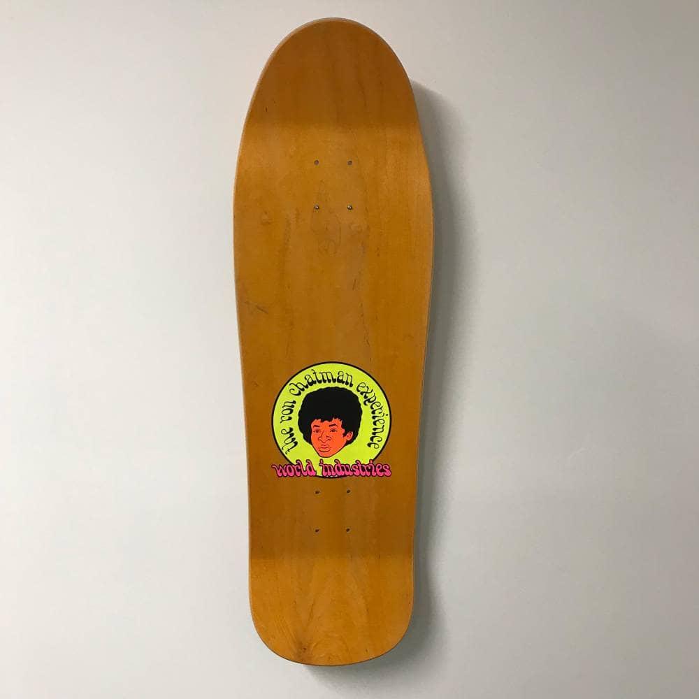Ron Chatman Experience World Industries Reissue Skateboard Deck 9 625