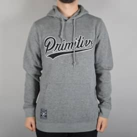 Built Stronger Pullover Hoodie - Grey Heather
