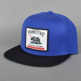 Cultivated Snapback Cap - Royal/Black
