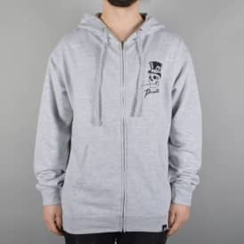 Dealer Zip Hoodie - Athletic Heather Grey