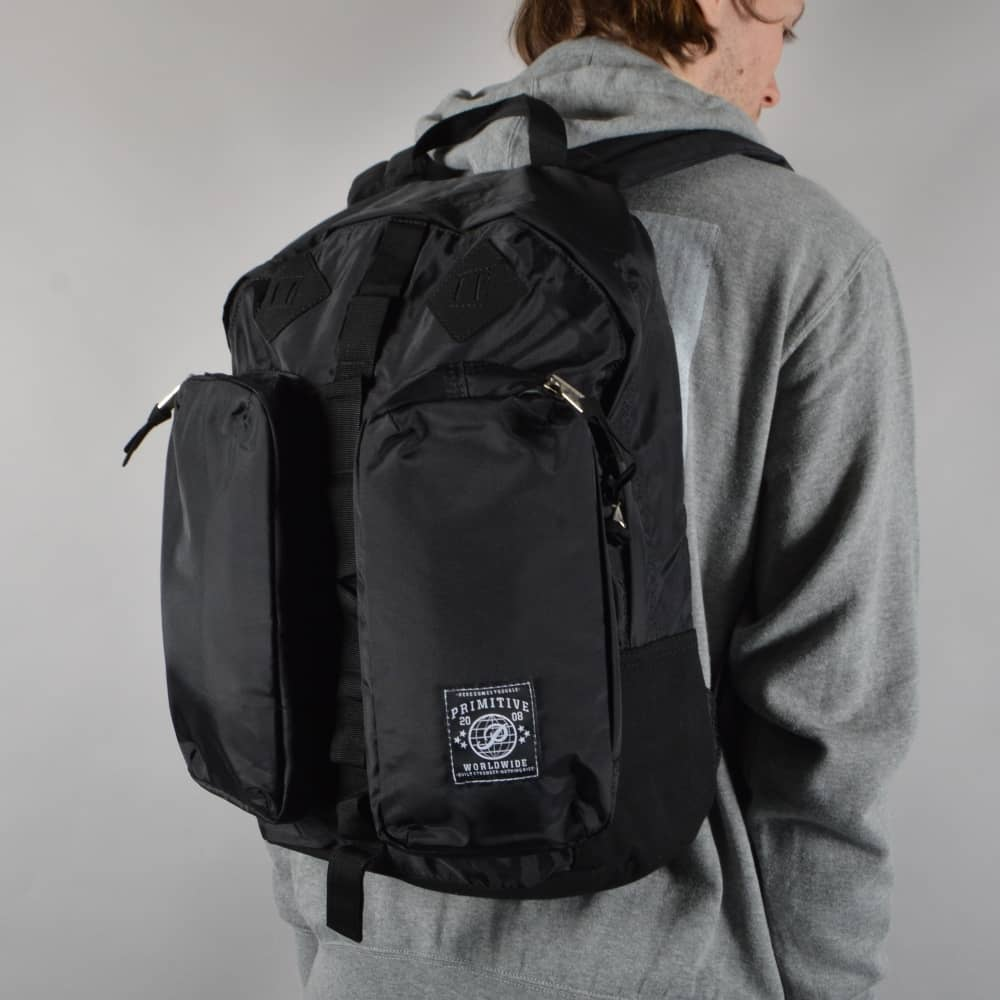 523115fb83 Primitive Apparel Essential Backpack - Black - ACCESSORIES from ...