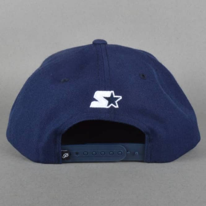 Primitive Apparel Fight Starter Snapback Cap - Navy - Caps from ... f2bad5eb7813