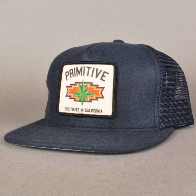 9637a33f348bb Primitive Apparel Primitive Native Trucker Cap - Navy - SKATE ...