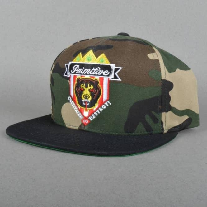 6a38efabba9 Primitive Apparel Primitive x Mishka Death Adder Crest Snapback Cap ...