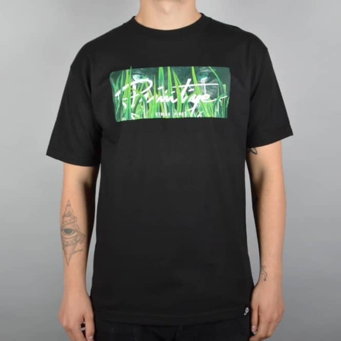 Primitive Apparel Stalker Skate T-Shirt - Black