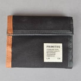 Primitive Apparel Standard Issue Tri-Fold Wallet - Black