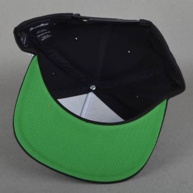 81a30fe01b9 Primitive Apparel Timeless Snapback Cap - Black - SKATE CLOTHING ...