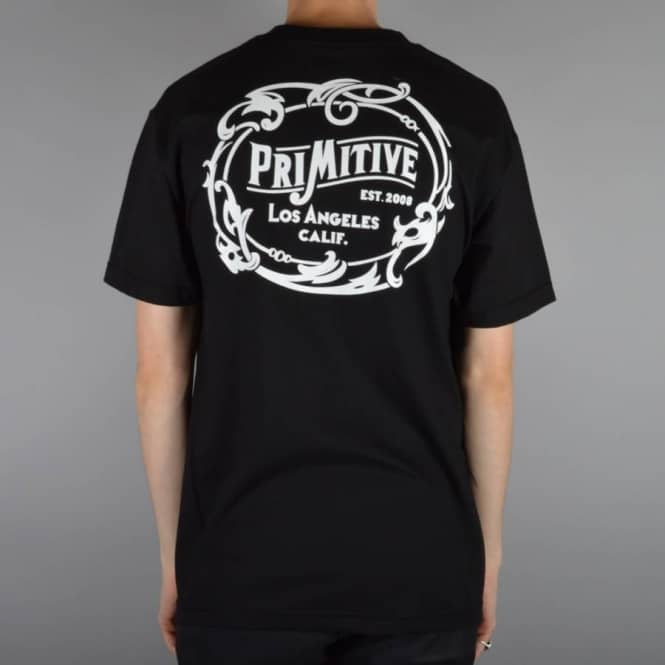 Primitive Apparel Wrangler Skate T-Shirt - Black