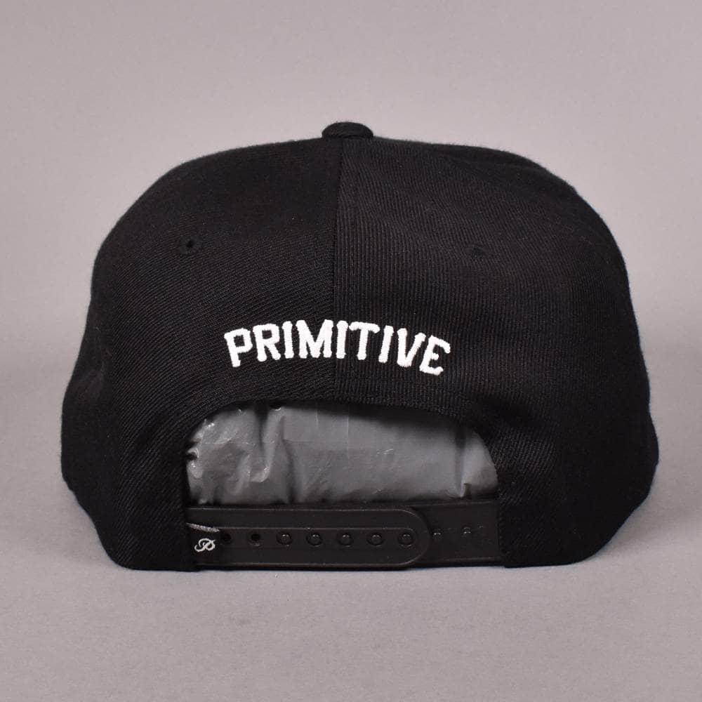 b4b70c0e2 Primitive Skateboarding Classic P Snapback Cap - Black