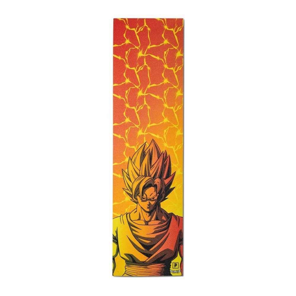 Primitive Skateboarding Goku Dragon Ball Z Skateboard Griptape - Single  Sheet