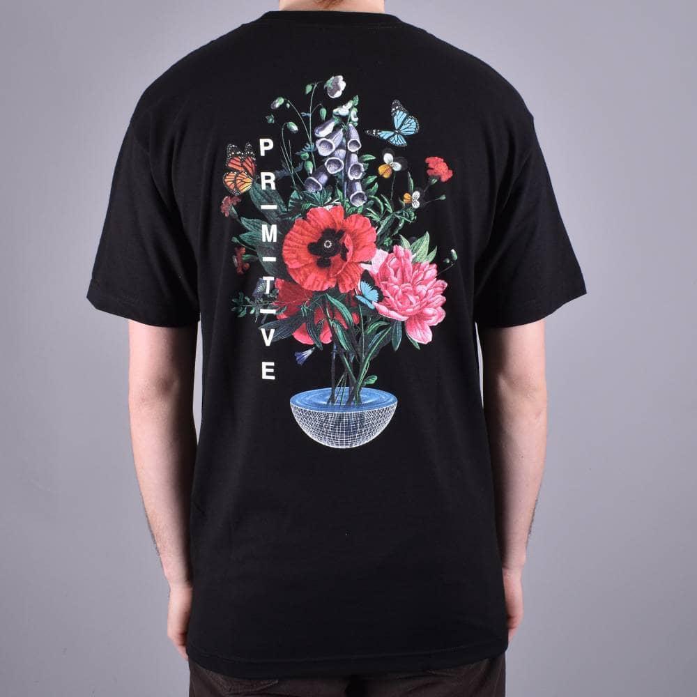 48a94e27 Primitive Skateboarding Memento Skate T-Shirt - Black - SKATE ...